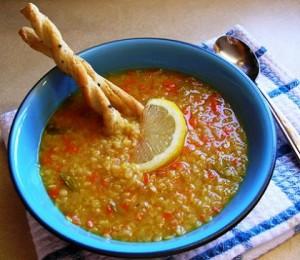 Супа от леща по манастирски