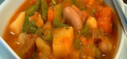 Гювеч от пресни зеленчуци