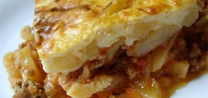 Мусака от кайма и картофи