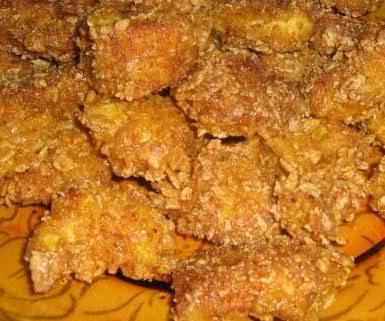 Рецепта за Пилешки хапки с корнфлейкс