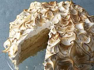 Сметаново кокосова торта