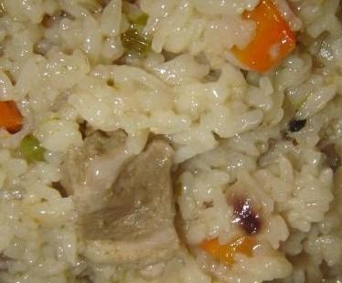 Свинско с ориз и зеленчуци