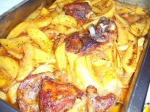 Агнешко с картофи на фурна