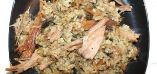 Агнешно с ориз и зелен лук за Гергьовден