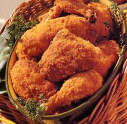 Пикантно печено пиле