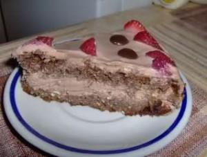 Шоколадова чийз-торта