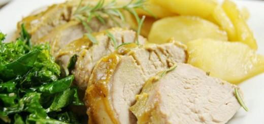 Печено свинско с горчица