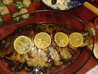 Рибен гювеч с шаран
