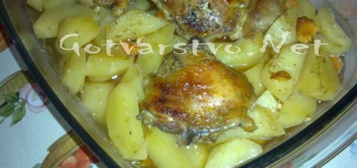 Бутчета с картофи на фурна