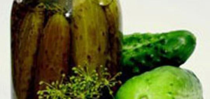 Рецепта за кисели корнишони
