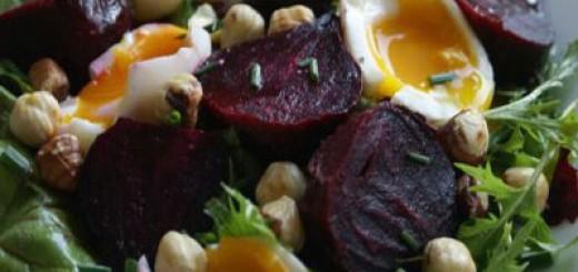 Здравословна салата с цвекло