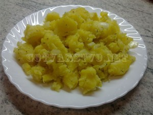 Салата от картофи