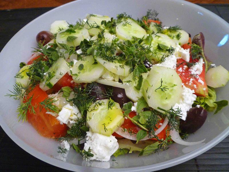 Салати за ракия