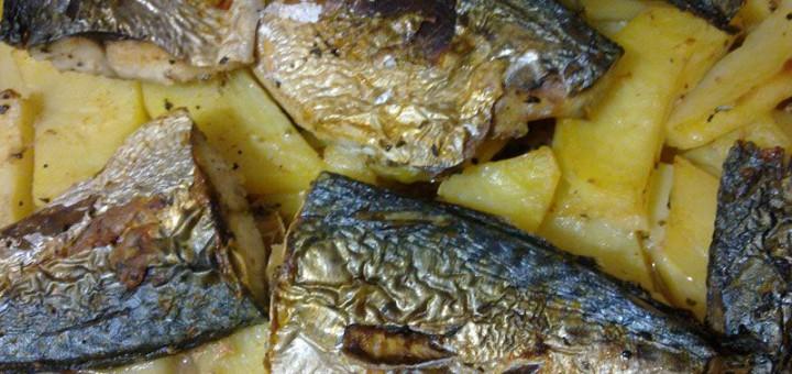 Риба с картофи