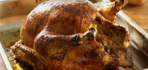 Апетитно пълнено пиле на фурна