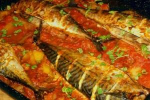 Апетитна риба на скара