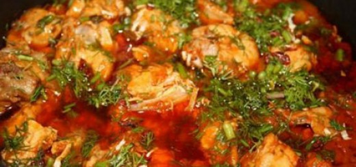 Грузинско национално ястие