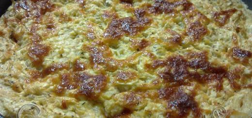 Суфле от тиквички с прясно мляко