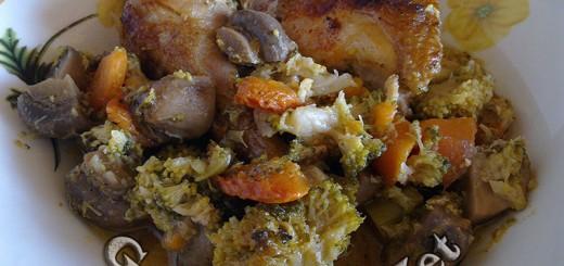 Рецепта за пилешко с броколи