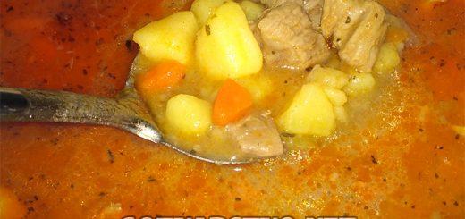 Картофена манджа с месо