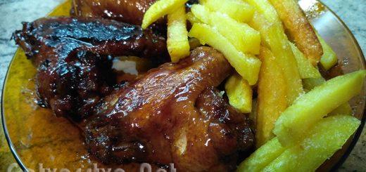 Крилца в сладко-кисел сос