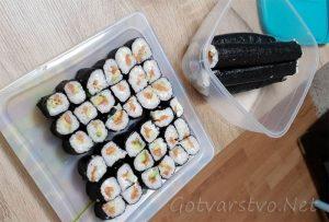 Домашно суши