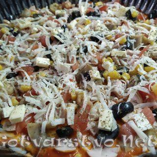 Бърза апетитна пица
